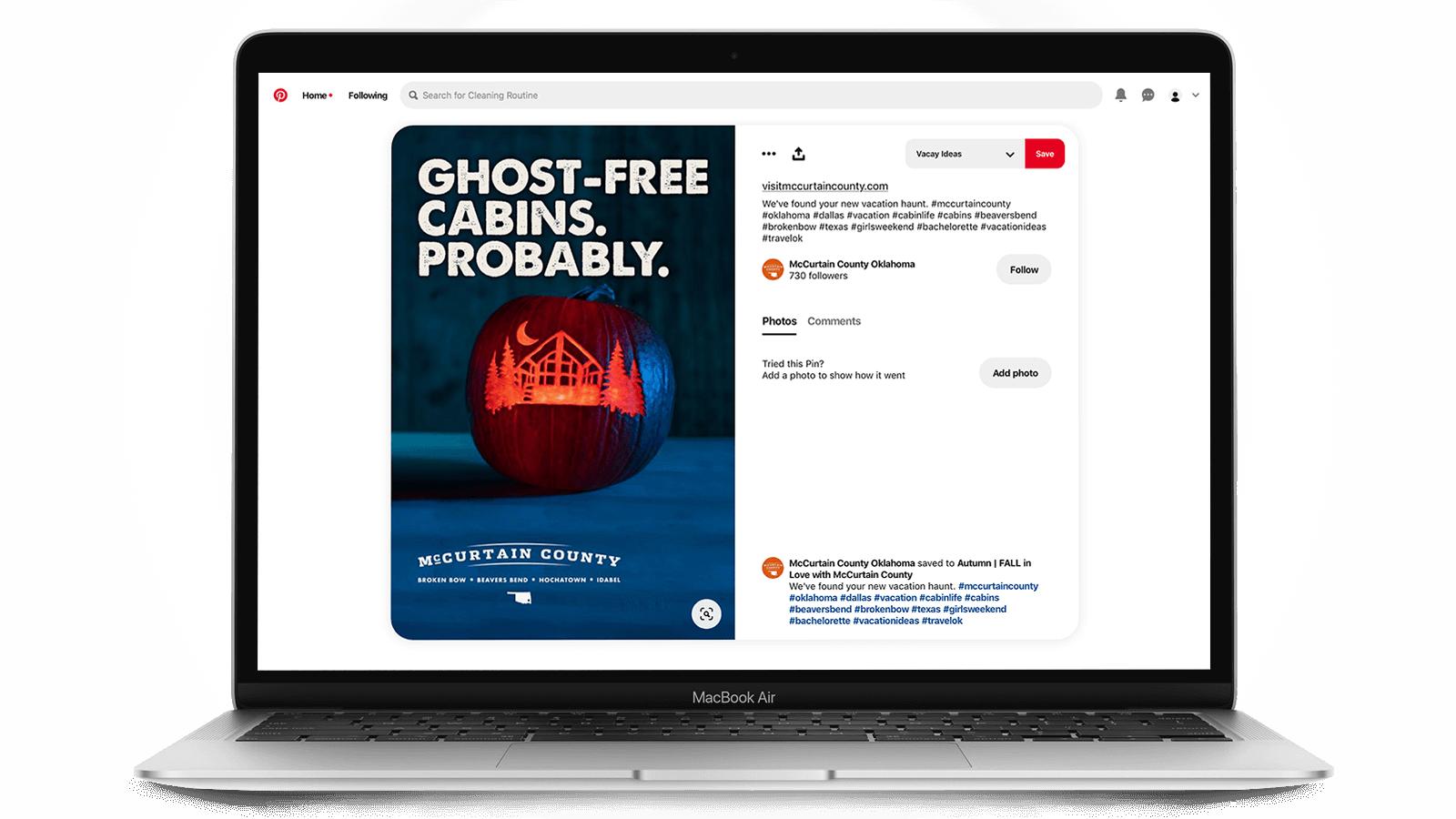 Tourism marketing on Pinterest - Halloween