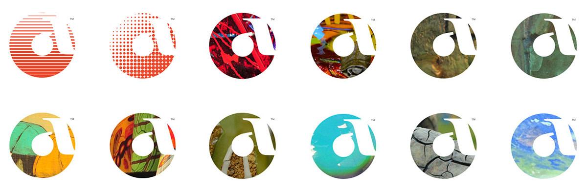 Logo design variations for Arts Council Oklahoma City