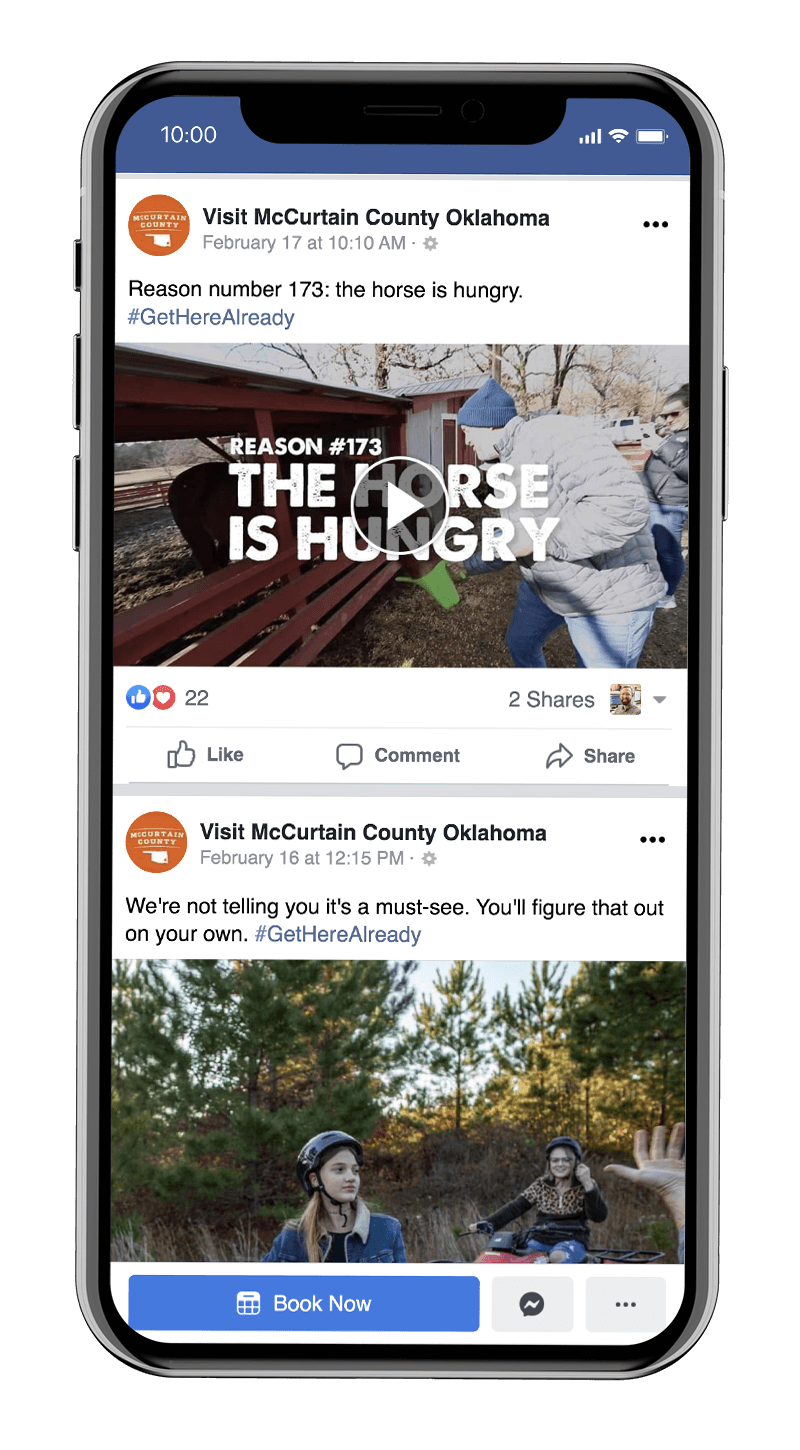 Another reason from the Reasons campaign for McCurtain County Tourism Authority