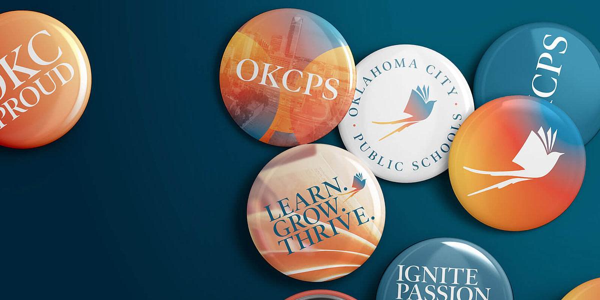 Logo design and branding for Oklahoma City Public Schools